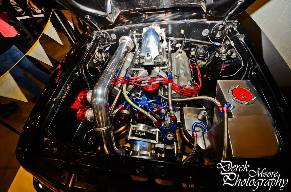 412ci Small Block Ford, Procharger F-1X